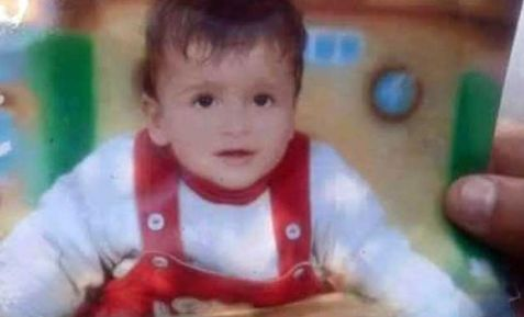 Ali Saad Dawabsha, one-and-a-half years old burned alive by extreme settlers.