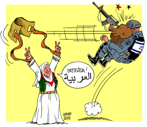 Mother Palestine and the 3rd Intifada Image by Carlos Latuff