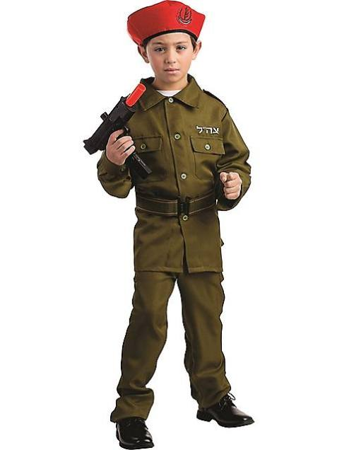 "The ""Israeli Soliders Costume for Kids"" Walmart's Israeli soldier's costume for children shows insensitivity to victims and survivors of war crimes."