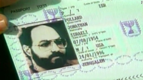 Pollard's useless Israeli passport