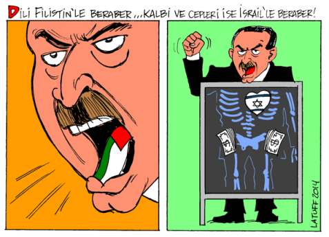 Turks have been fooled and will always be while buying Erdogan's fake rethoric on Kurds and Palestinians