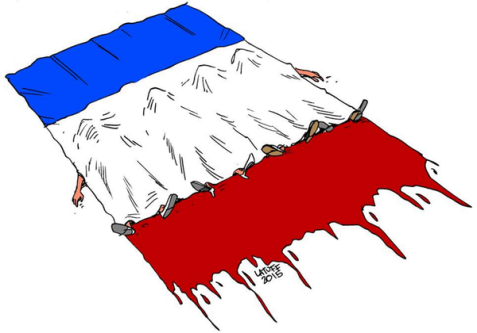 Paris Mourns Its Dead