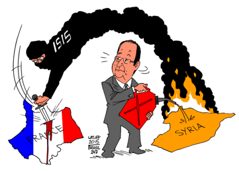 Explosive Foreign Policy of Hollande