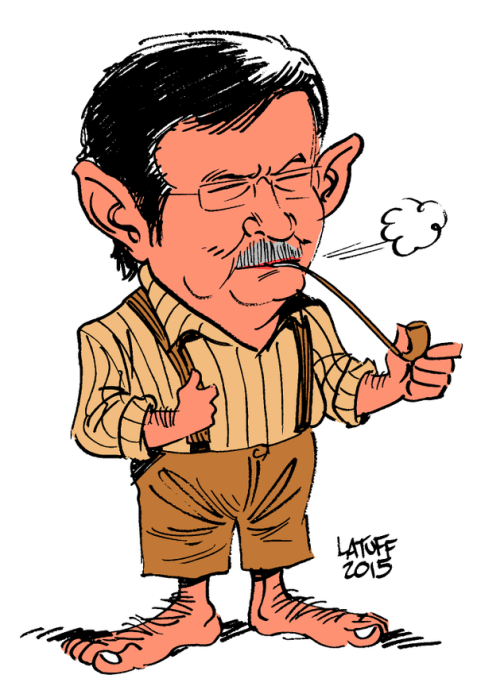I'm in doubt about something. If Erdogan is Gollum, who's Davutoğlu? An evil Hobbit dwarf?