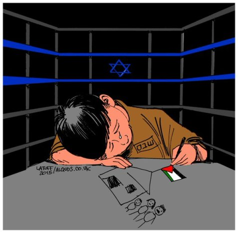 More Palestinian children in Israel jails!