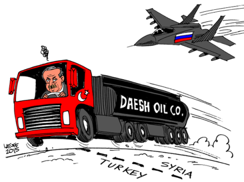 Russia: Main Obstacle to Erdogan's Turkey/Daesh Oil Trade