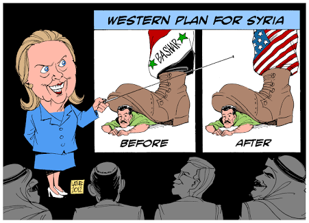 No Hillary, you're Not My Abuela. My Grandmother didn't back the shattering of Syria