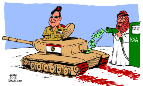 Who's Funding el-Sisi's War Machine?