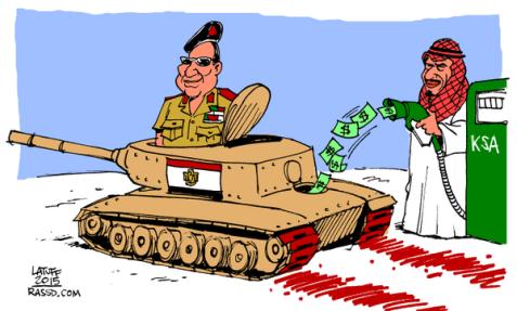 Who's Funding el-Sisi's War Machine?