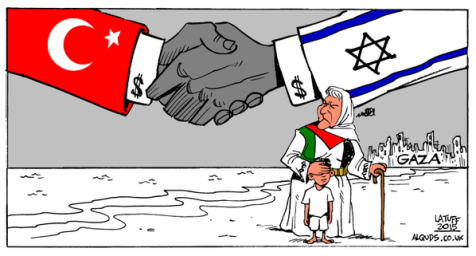 Cartoon of the Hour: Turkey /Israel Deal