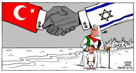 Cartoon of the Hour: Turkey /Israel Deal
