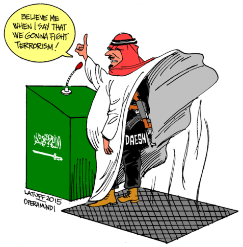 Joke of the Year: Saudi Arabia Forms Anti-Terrorism Coalition! Ha! Ha! Ha!