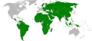GRAPHIC: Countries that currently recognise 'Palestine' as a state. FROM