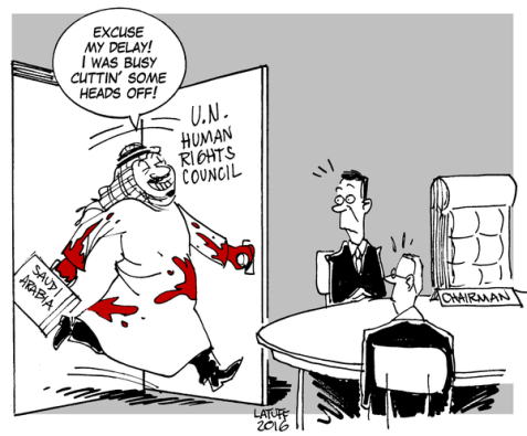 Does it Makes Any Sense to Have Saudi Arabia as Head of UN Human Rights Council?