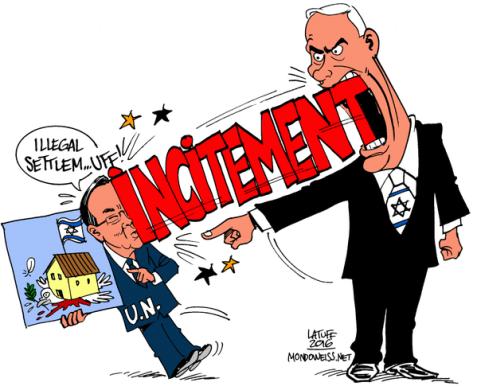 Netanyahu responds to Ban Ki-moon's criticism of the Israeli occupation