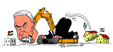 Image result for Zionist confiscate a land CARTOON