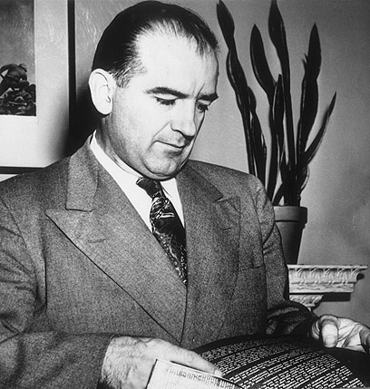 #WitchHunt ~~ McCARTHY COMES TO ISRAEL | Desertpeace Joseph Mccarthy