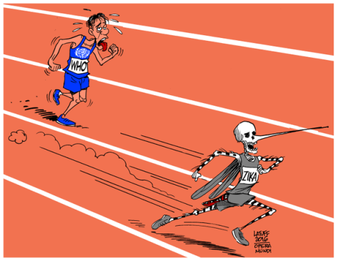 Zika and @WHO, Who Will Win This Olympic Marathon?