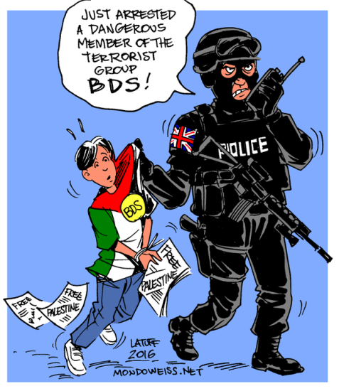 UK government criminalizing BDS from the classroom to the courtroom