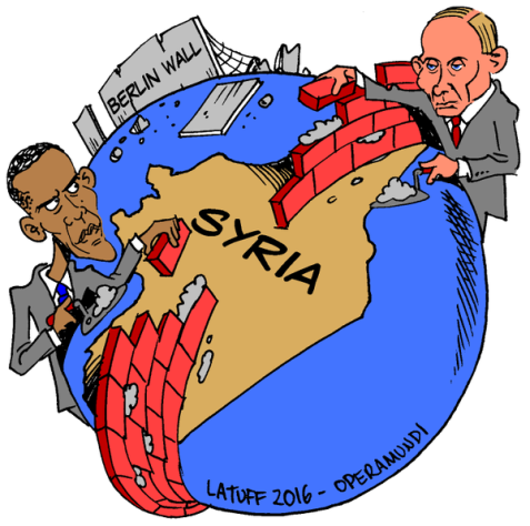 "Cartoon of the Day: Obama, Putin and the ""New"" Cold War"