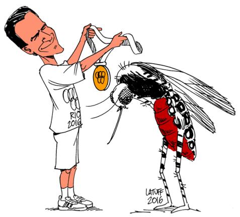 Rio de Janeiro, The Olympics, City Of Zika Virus, Dengue Fever!
