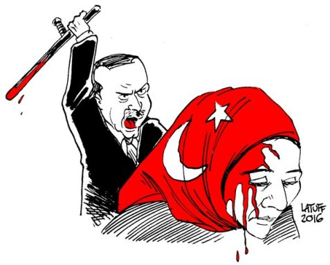 Latuff's Website was one of the first to be banned in Turkey .... Read more HERE