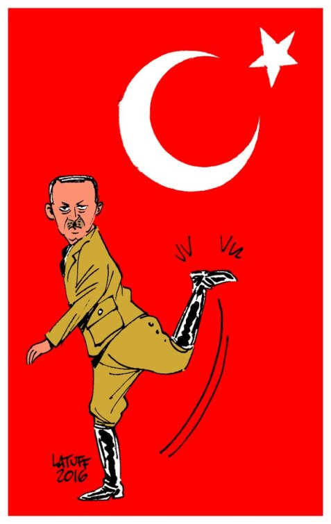 Erdogan, The Little Dictator!