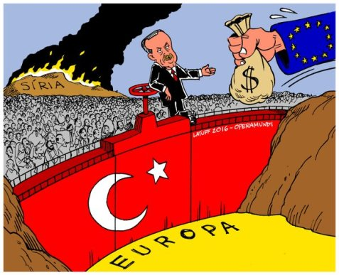 How Erdoğan is Blackmailing Europe