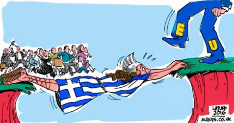 Greece and the Refugee Crisis ....SEE