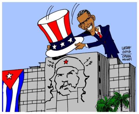 POTUS goes to Cuba ....