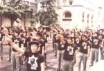 kahana supporters give nazisalute