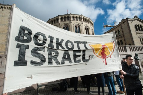 A European coalition is campaigning to protect the right to speak out in support of Palestinian rights. (Ryan Rodrick Beiler) / ActiveStills