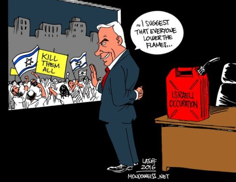 As right-wing incitement spreads in israel, Bibi looks to extinguish fire he stoked for years