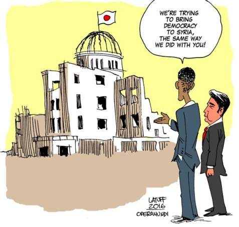 Obama in #Hiroshima