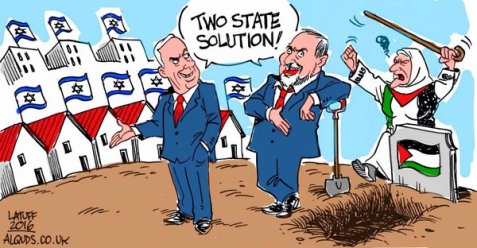 "Two State ""Solution"" of Netanyahu & Lieberman"