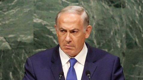 Prime Minister Netanyahu at the UN General Assembly last October (Photo: AP)