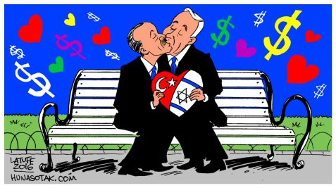 Criminals in love By Carlos Latuff