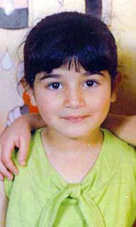 Our precious Abir Aramin, killed by Israeli soldiers in Anata refugee camp near Jerusalem, 19 January 2007.