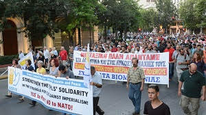 Mass demonstration against NATO in Athens Saturday