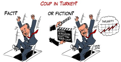 Coup in Turkey? Fact or Fiction?