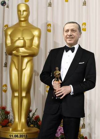 And the Oscar goes to... President Erdogan for the Staged Coup