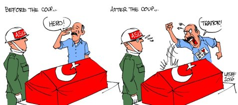 "Turkey's Military, before and after the ""coup"""