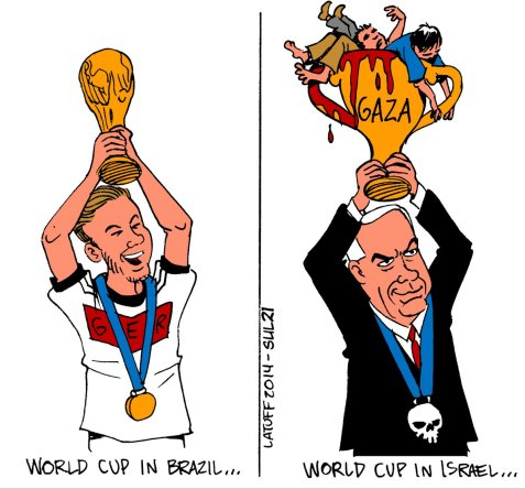 Join the Thunderclap: Red card for Apartheid! Expel racist Israel from Fifa!