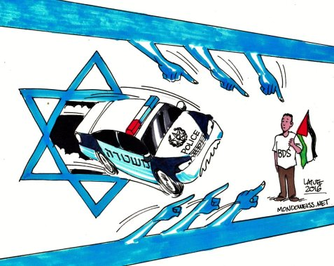 The Israeli government has called on citizens to 'turn in' boycott activists for deportation.