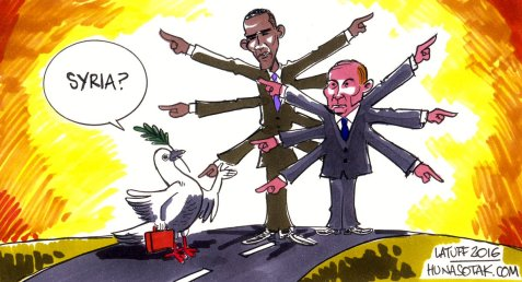 Obama, Putin and the Syrian road to peace