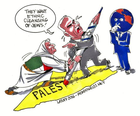 "Here we go with just another lie from Netanyahu ... ""Ethnic cleansing of Jews"" in Palestine"