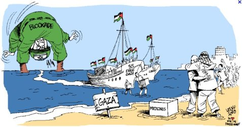 This is the one Carlos drew when we 1st broke Israel's siege, 23/08/08 We arrived successfully 4 more times