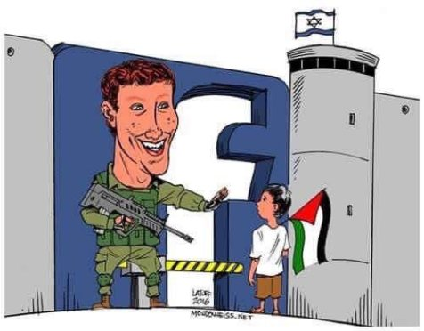 Deleting FB posts, pages & accounts of Palestinian media professionals restricts the exercise of freedom of opinion