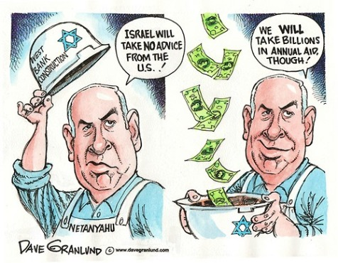 Image result for netanyahu kisses trump's arse cartoon
