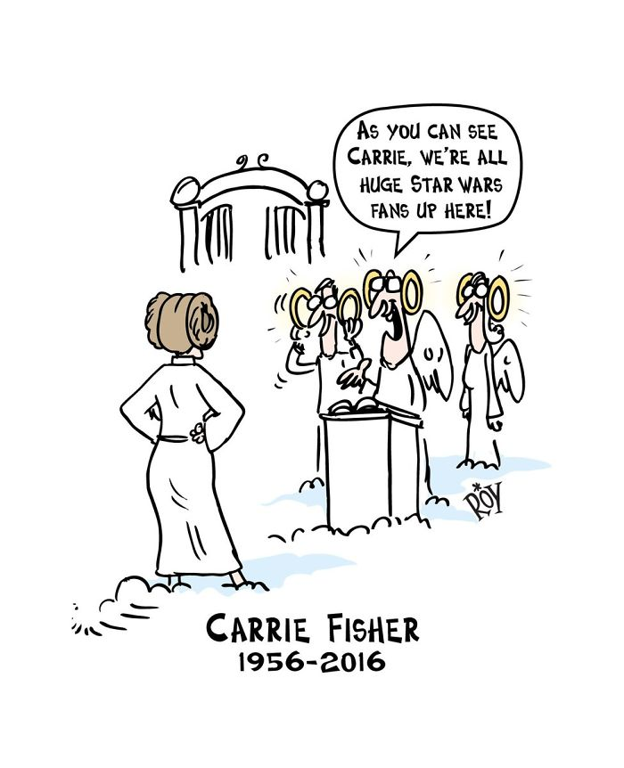 artists pay tribute princess leia carrie fisher57 58638b2c1b236 700